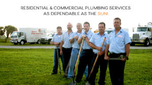 Residential and Commercial Plumbing Services as Dependable as the Sun!