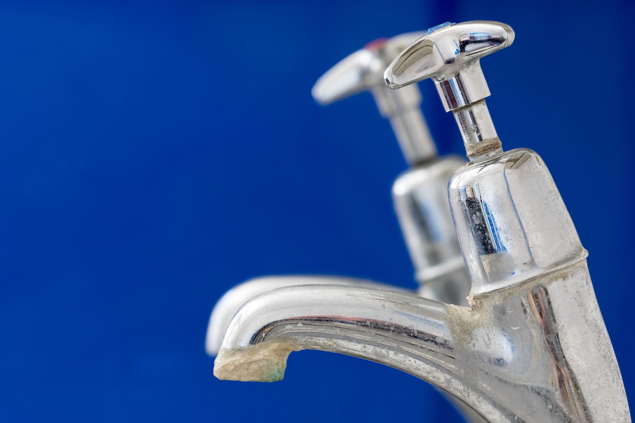 Limescale faucet