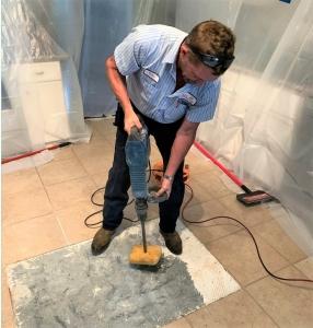 Plumber Fixing Slab Leak