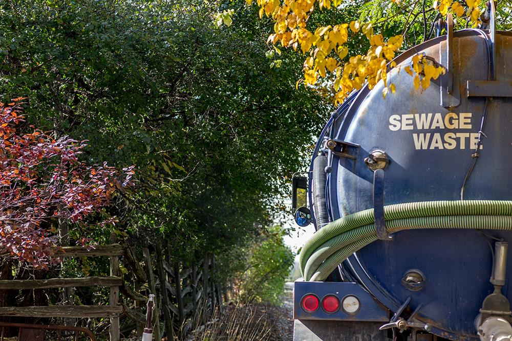 Maintaining a septic tank
